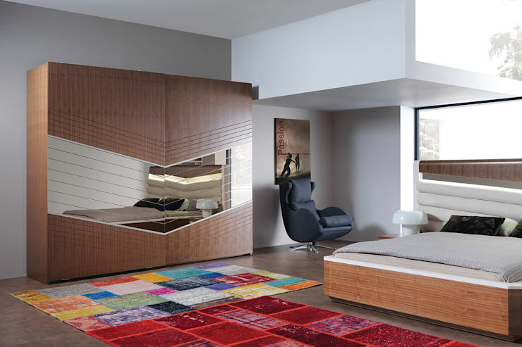 غرفة نوم تنفيذ Trabcelona Design