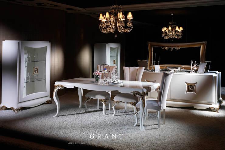 Trabcelona Design – Grant yemek odası:  tarz Yemek Odası