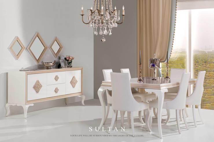 Trabcelona Design – Sultan Yemek Odası: modern tarz , Modern