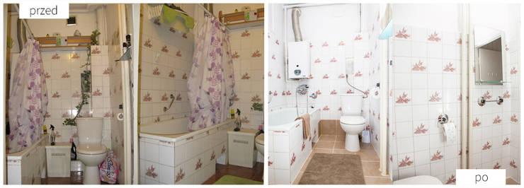 Łazienka: styl , w kategorii  zaprojektowany przez Neo Art design