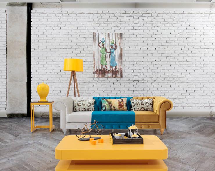 Trabcelona Design – CESTER CAPİTONE:  tarz Oturma Odası