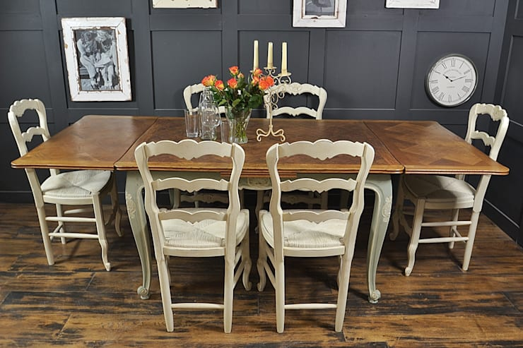 Comedor de estilo  de The Treasure Trove Shabby Chic & Vintage Furniture