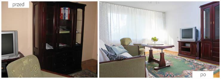 Duży pokój: styl , w kategorii  zaprojektowany przez Neo Art design
