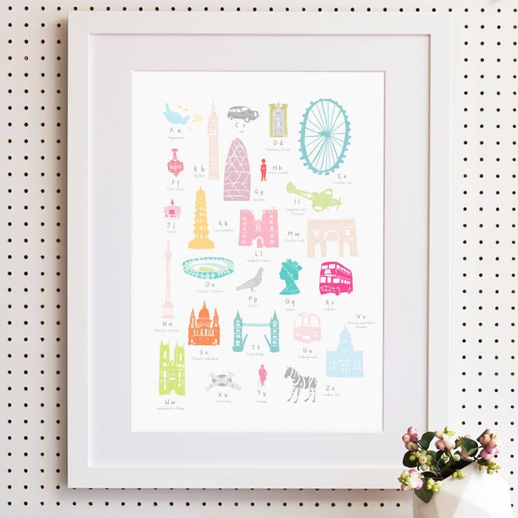 Product range photo shoot:  Nursery/kid's room by Holly Francesca