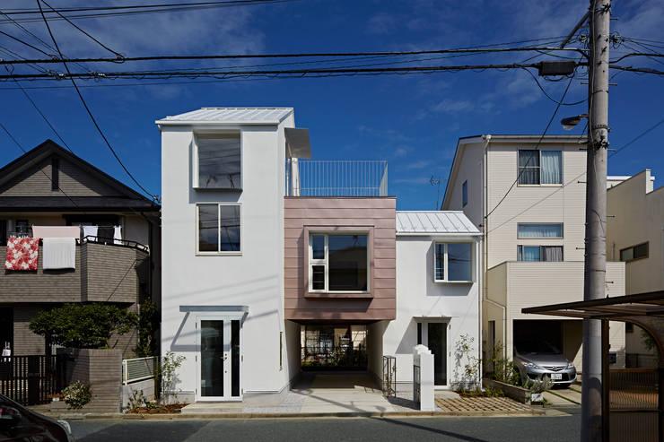 sandwich apartment: 池田雪絵大野俊治 一級建築士事務所が手掛けた家です。