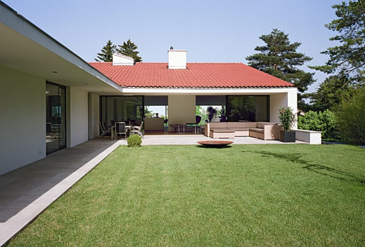 Haus G., Mödling:  Terrasse von Erich Prödl Associates