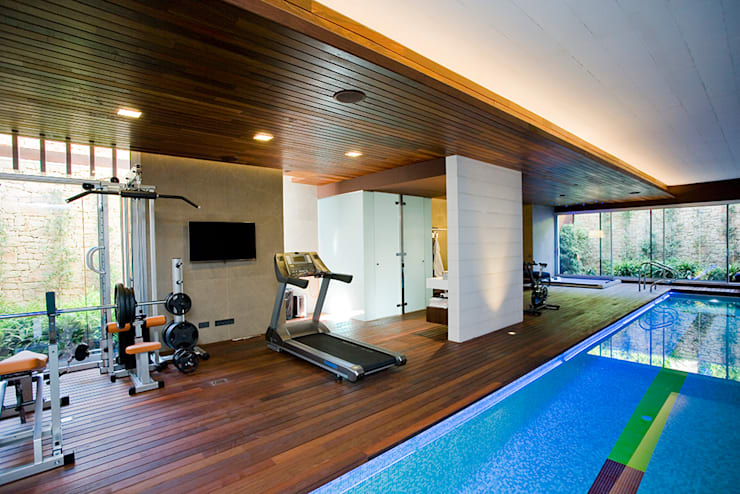 modern Gym by Jorge Belloch interiorismo