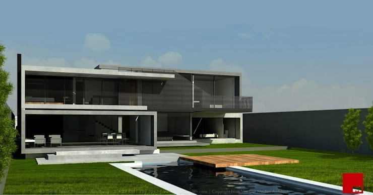 House in Kinshasa :  Houses by Nico Van Der Meulen Architects