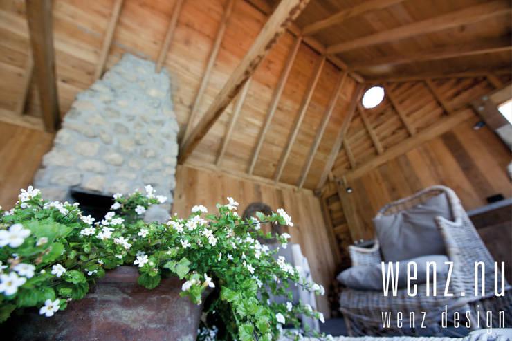 WENZdesign Poolhouse: rustieke & brocante Huizen door WENZdesign