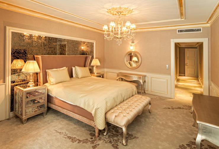 N'CESUR FURNİTURE – yatak odası: endüstriyel tarz tarz Yatak Odası