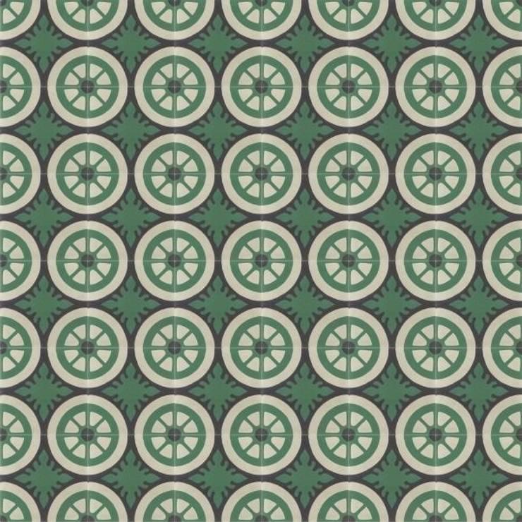 EMILIANO - cementowe płytki podłogowe: styl , w kategorii Ściany i podłogi zaprojektowany przez Kolory Maroka