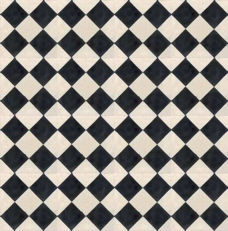 ENRIQUE - cementowe płtytki podłogowe: styl , w kategorii Ściany i podłogi zaprojektowany przez Kolory Maroka