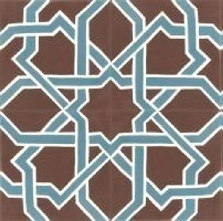 FABIO - cementowe płytki podłogowe: styl , w kategorii Ściany i podłogi zaprojektowany przez Kolory Maroka