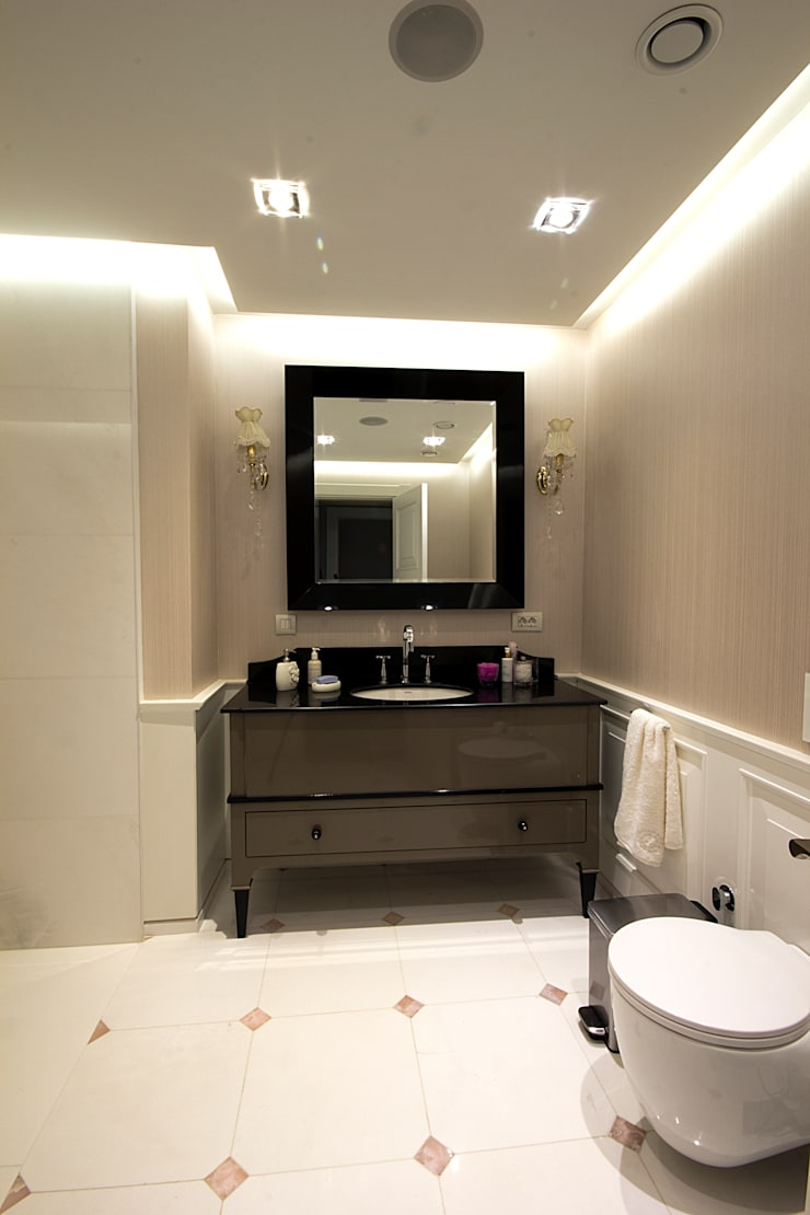 N'CESUR FURNİTURE – n.cesur furniture: endüstriyel tarz tarz Banyo