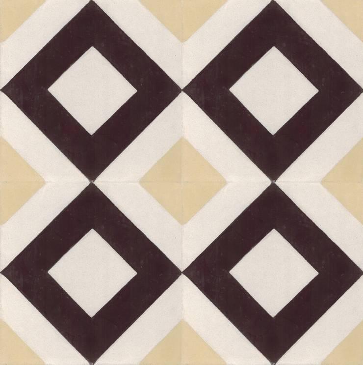 FALCAO - cementowe płytki podłogowe: styl , w kategorii Ściany i podłogi zaprojektowany przez Kolory Maroka