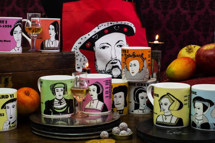 Tudor mugs, tea towels, aprons:  Kitchen by Cole of London