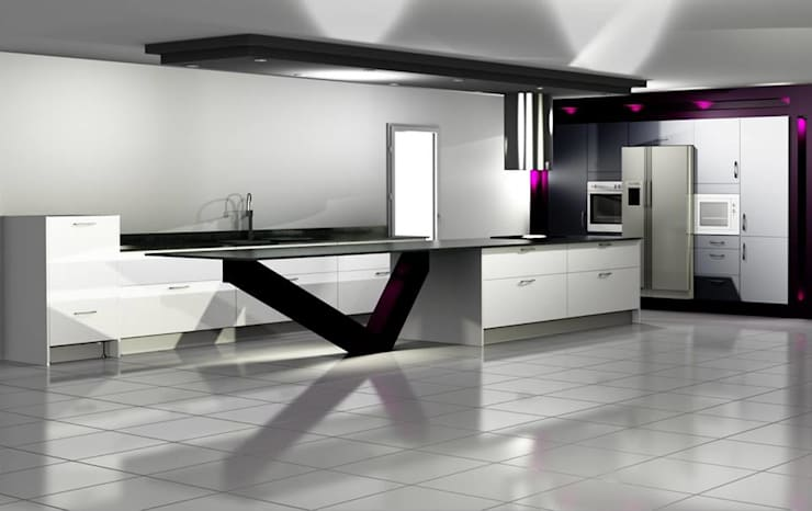 Kitchens: Cuisine de style  par A.C Agencement