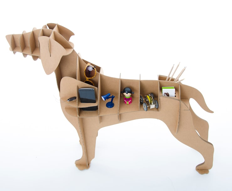 Perro de Cartón 'Labrador: Hogar de estilo  de Milimetrado