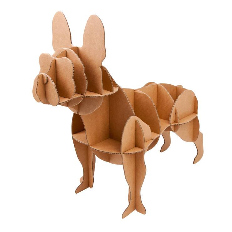Perro de Cartón <q>Bulldog Francés</q>: Hogar de estilo  de Milimetrado