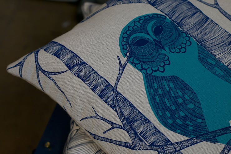 The Owl :  Living room by Camilla Meijer