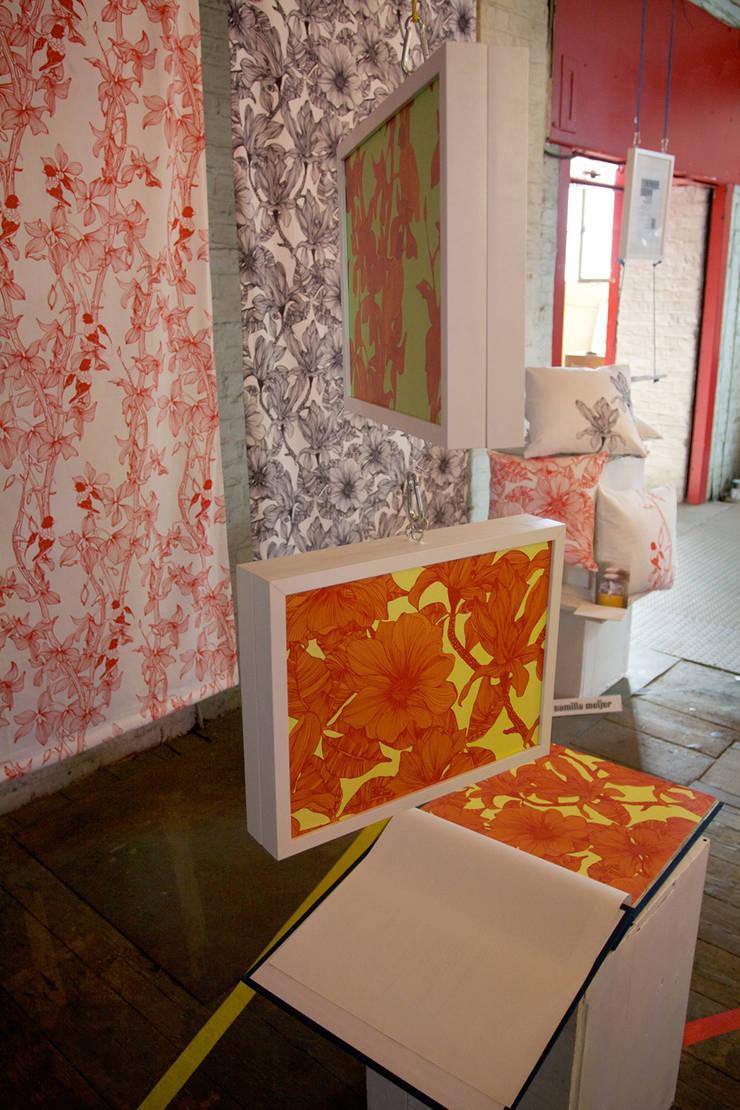 Magnolia & The Doves :  Exhibition centres by Camilla Meijer