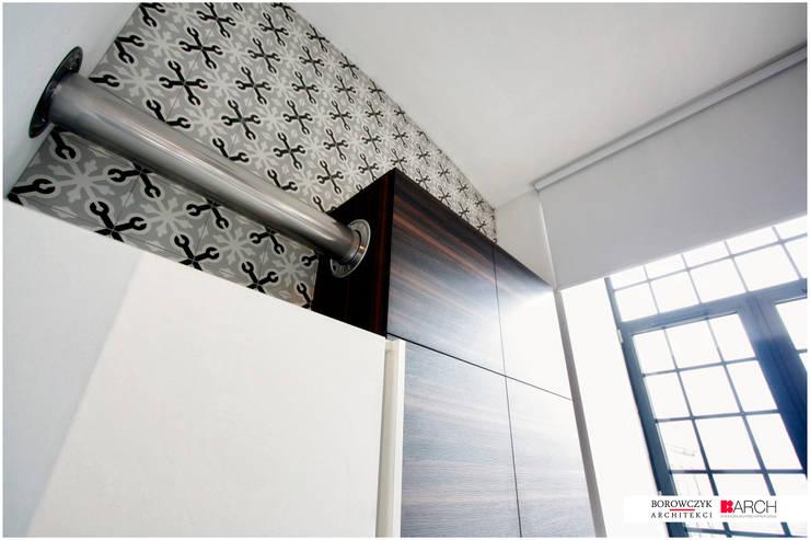 LOFT z widokiem: styl , w kategorii Kuchnia zaprojektowany przez Borowczyk Architekci,