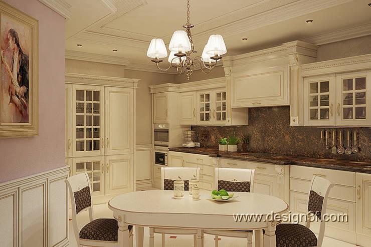 кухня: Кухни в . Автор – студия Design3F