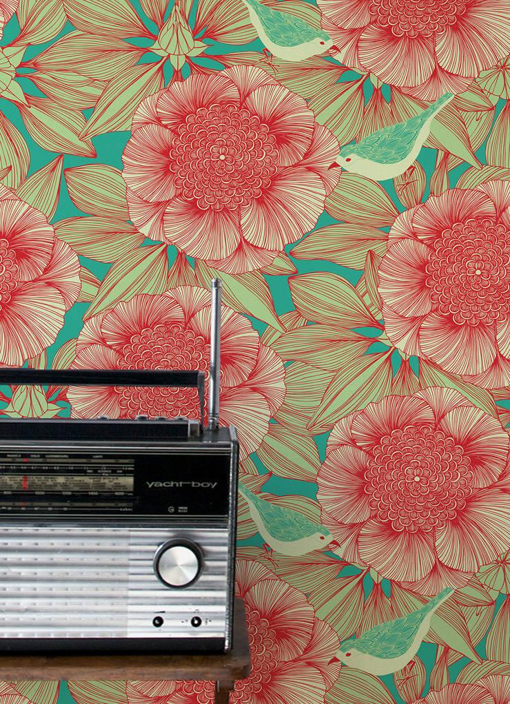 Victoria, Wallpaper :  Walls & flooring by Camilla Meijer