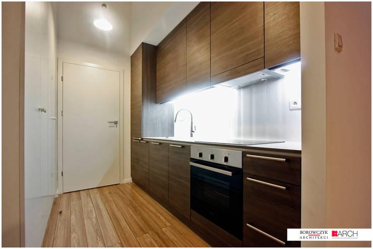 DVUPAK – loft VIVID: styl , w kategorii Kuchnia zaprojektowany przez Borowczyk Architekci