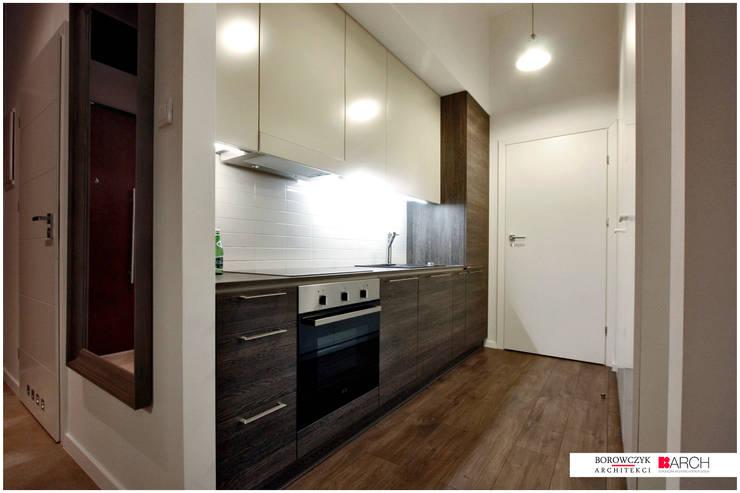 DVUPAK – loft MOODY: styl , w kategorii Kuchnia zaprojektowany przez Borowczyk Architekci