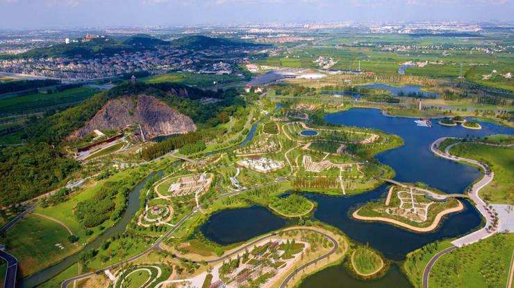 Übersicht © ER Dongqiang:  Veranstaltungsorte von Valentien + Valentien Landschaftsarchitekten Stadtplaner