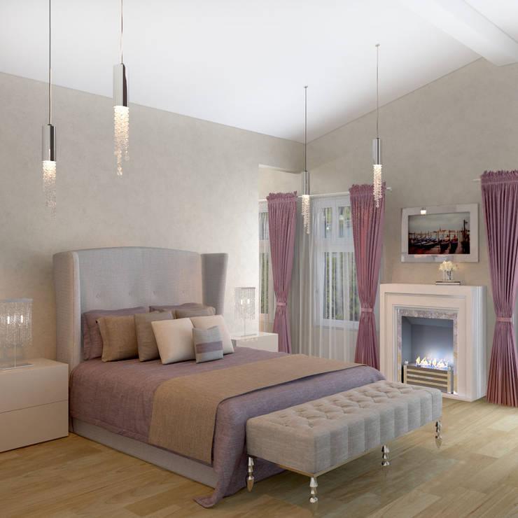 Спальня 2 этаж: Спальни в . Автор – Универсальная история