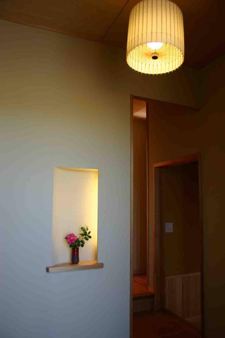 .: さんさい工房一級建築士事務所が手掛けた壁です。,和風