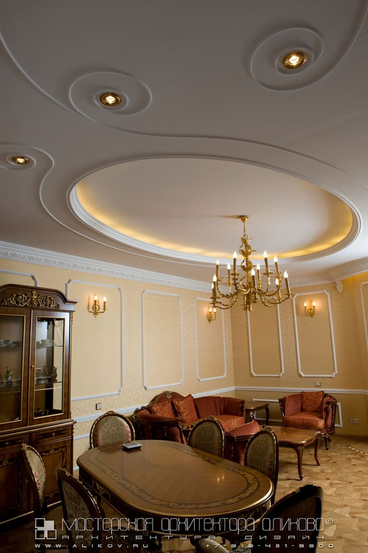 Гостиная: Гостиная в . Автор – Мастерская архитектора Аликова