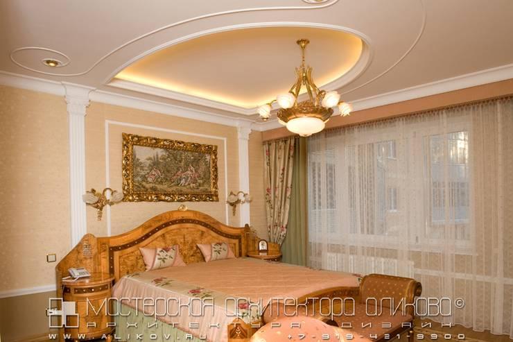 Спальня в классическом стиле: Спальни в . Автор – Мастерская архитектора Аликова