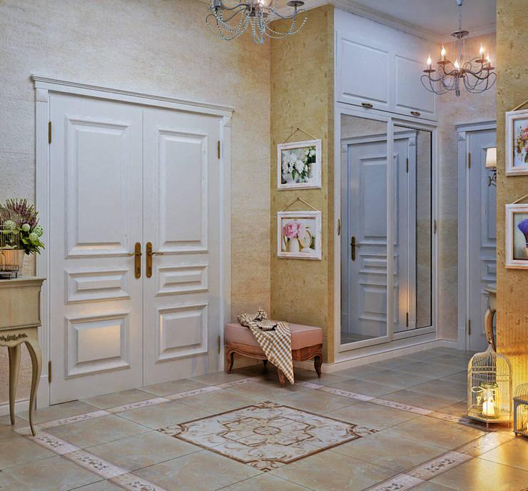Студия дизайна Interior Design IDEASが手掛けた廊下 & 玄関