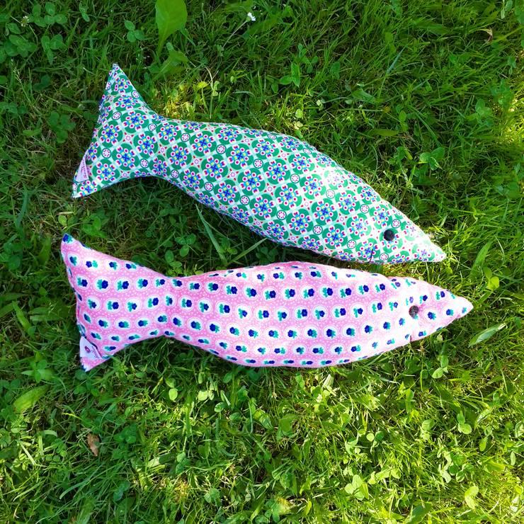Sesiber – Balık Yastıklar: akdeniz tarzı tarz Çocuk Odası