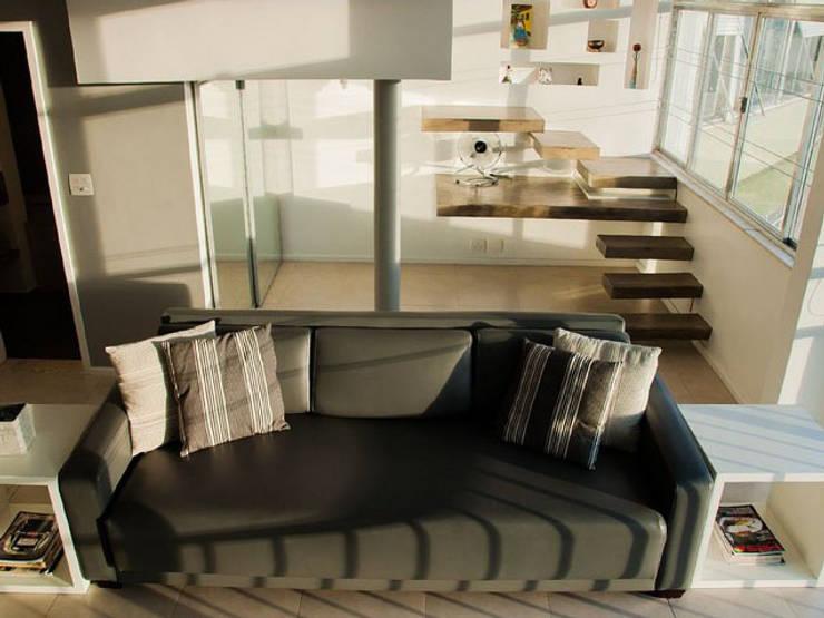 Projekty,  Sypialnia zaprojektowane przez Margareth Salles