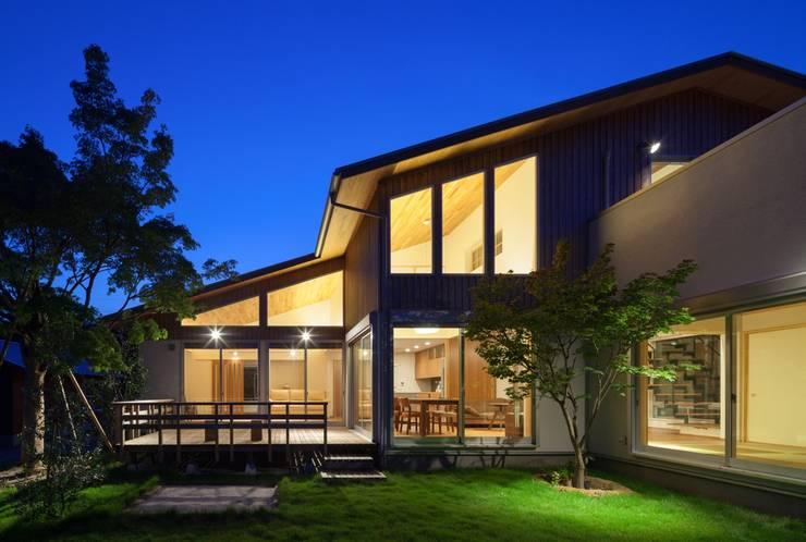 Projekty,  Domy zaprojektowane przez ろく設計室