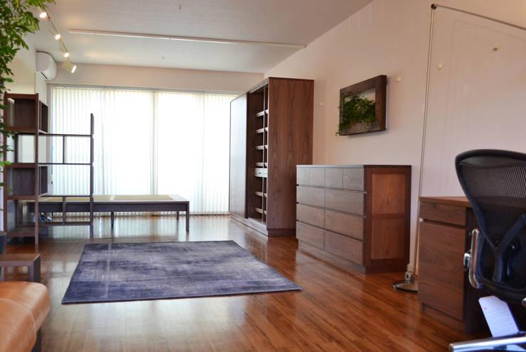 K邸 TOTAL PLAN: 株式会社 3rdが手掛けた多目的室です。
