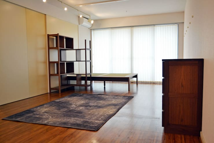 K邸 TOTAL PLAN: 株式会社 3rdが手掛けた寝室です。