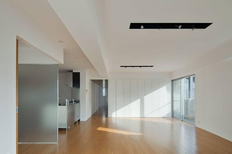 香椎浜のマンションリノベーション: ろく設計室が手掛けたダイニングです。