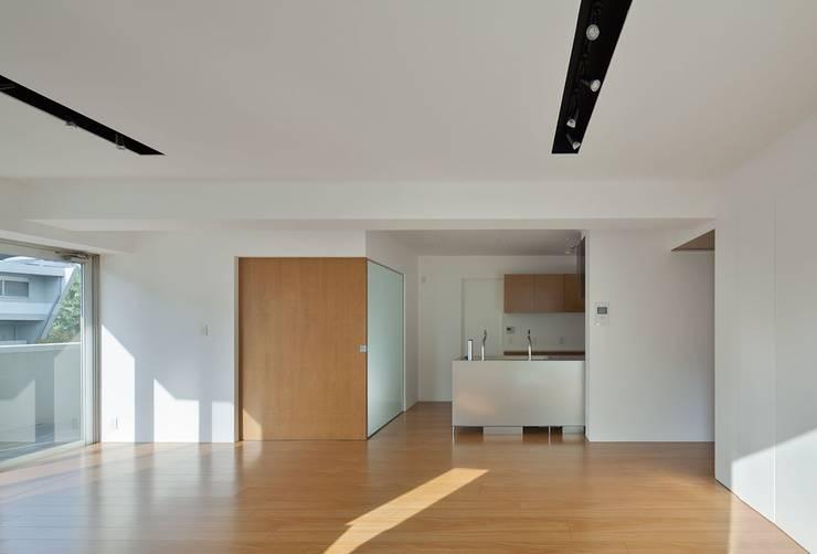 香椎浜のマンションリノベーション: ろく設計室が手掛けたキッチンです。