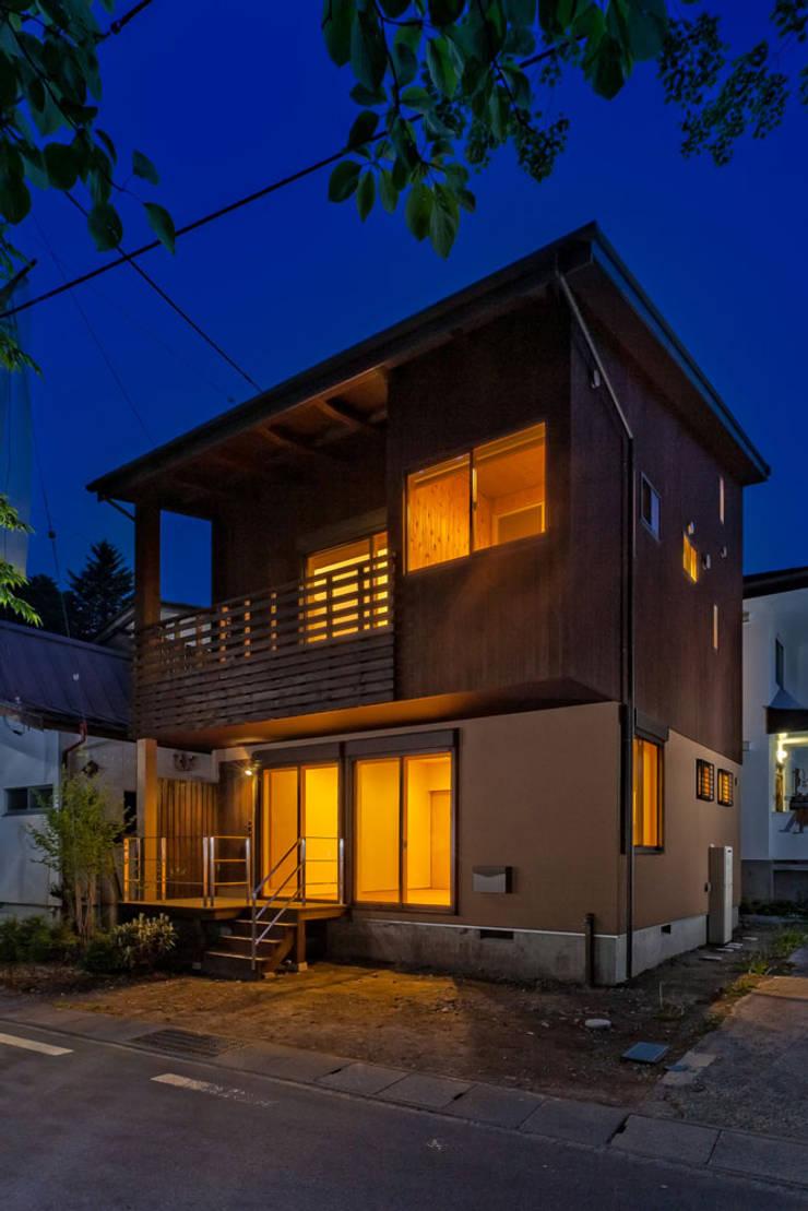 旧軽井沢の家: 光風舎1級建築士事務所が手掛けた家です。,北欧