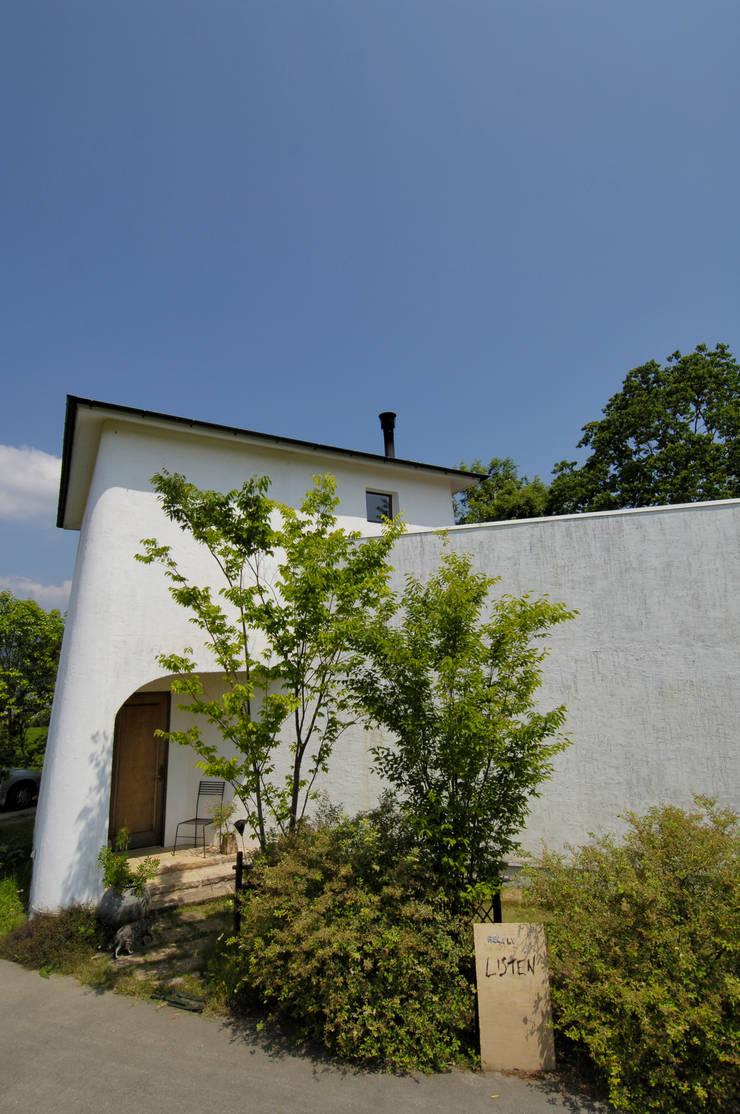 土佐漆喰の家: 大森建築設計室が手掛けた家です。