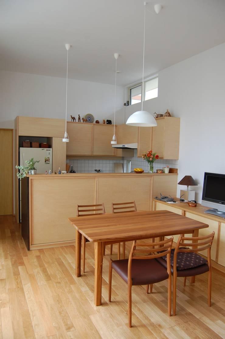 ダイニングとキッチン: FURUKAWA DESIGN OFFICEが手掛けたダイニングです。,モダン