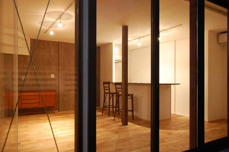 リビング・ダイニング・キッチン: FURUKAWA DESIGN OFFICEが手掛けたリビングです。