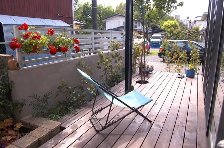 庭: FURUKAWA DESIGN OFFICEが手掛けた庭です。