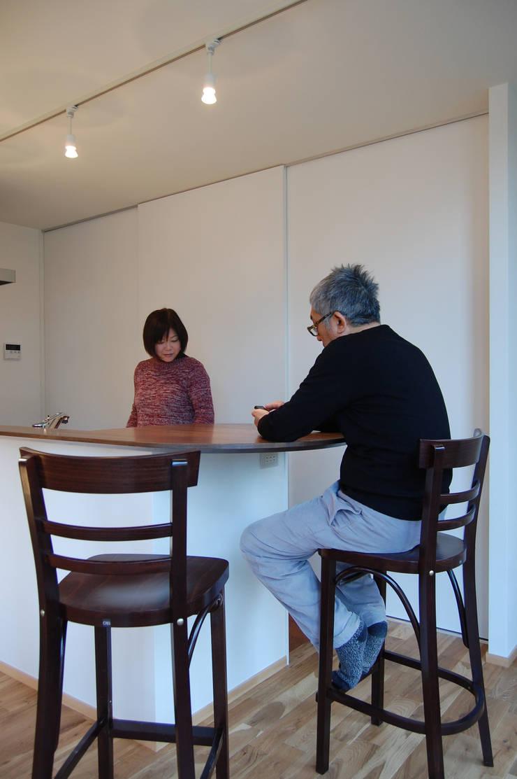 キッチン: FURUKAWA DESIGN OFFICEが手掛けたキッチンです。
