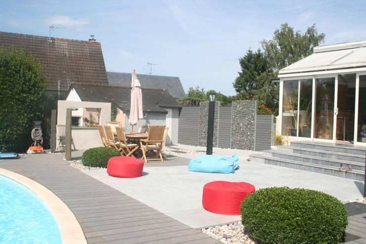 moderne Tuin door EURL OLIVIER DUBOIS